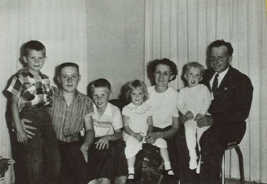LeGrand and Cora Adamson family