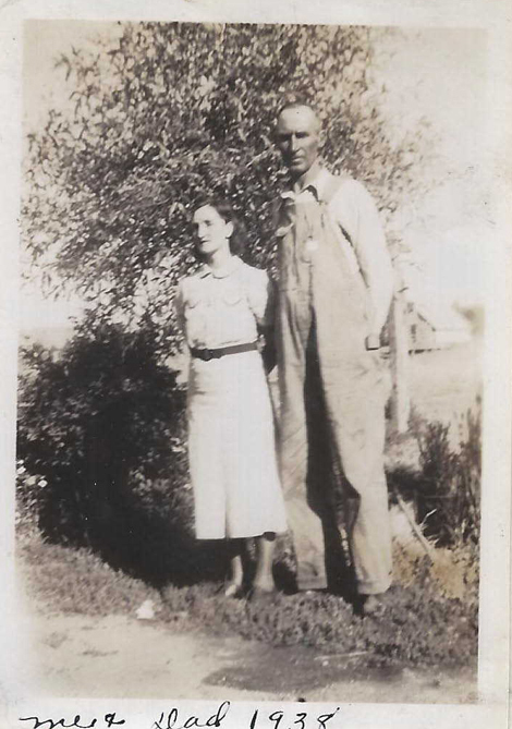 William Branson and daughter 1938