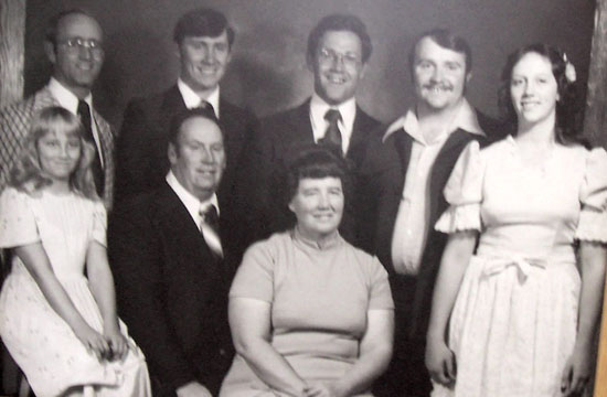 Herman and Glenna Fae Buhler family