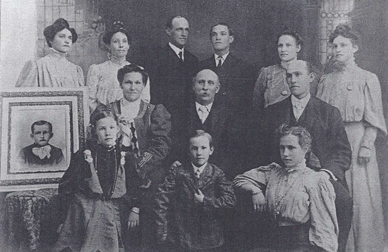 William and Catherine Chadwick family