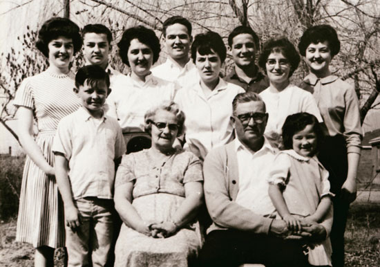 Abram and Sadie Dalley family