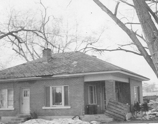 Abram and Sadie Dalley home