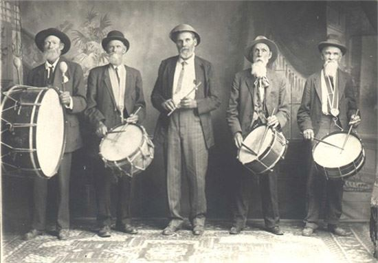Freestone band, second from left